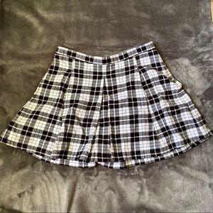 Joe Boxer Plaid Skirt